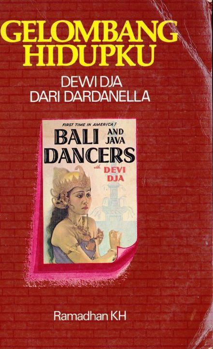 Cover buku biografi Dewi Dja karya Ramadhan KH