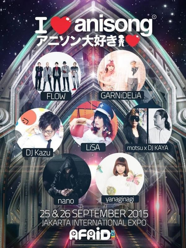 Poster Anisong