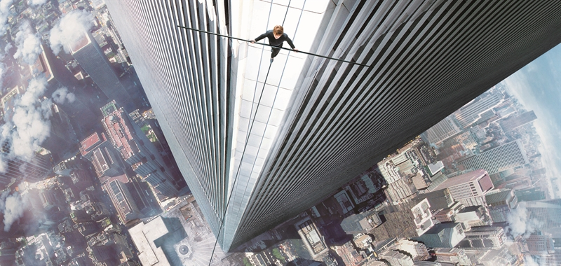 Scene capture dari film The Walk