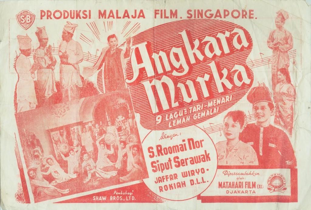 Poster film musikal Dardanella, Angkara Murka