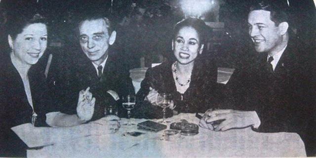 Devi Dja (tiga dari kiri) bersama para artis Hollywood. Sumber: showbiz.beritaprima.com