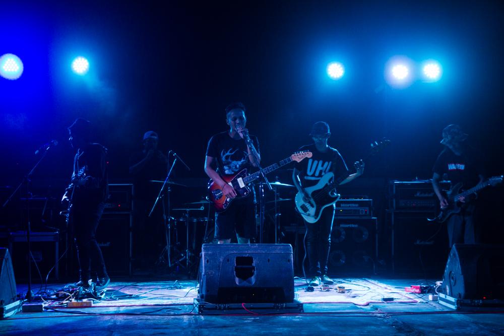Band DIOCREATURA (photo by: Bimo Dwi Putranto)