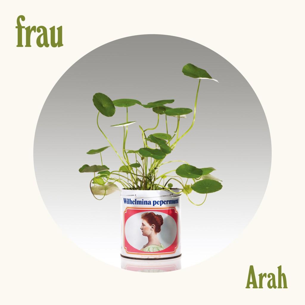 """Cover single terbaru Frau """"Arah"""""""