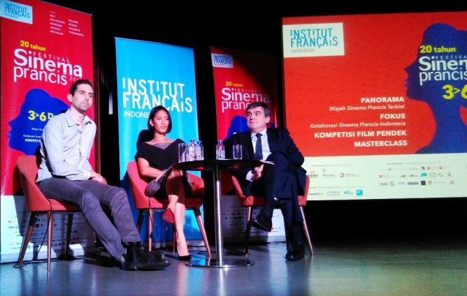 Jumpa pers Festival Sinema Prancis 2015 (Foto: Metrotvnews.com/Putu Radar B)