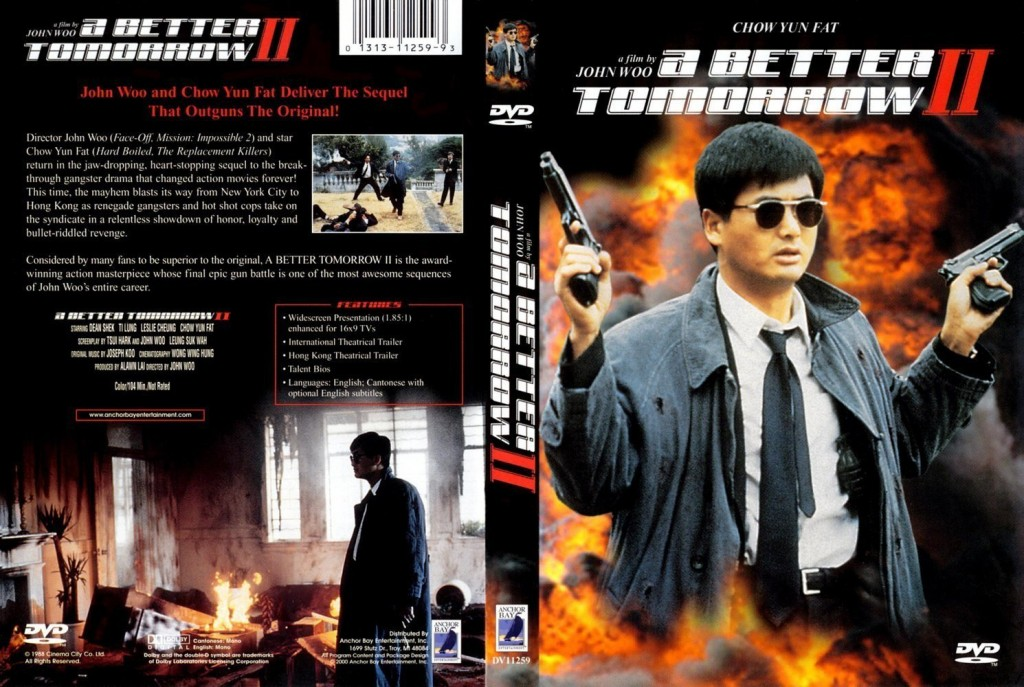 Sampul DVD film A Better Tomorrow II, yang rilis tahun 1987. (sumber: volumemovies.biz)