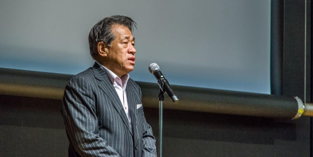 Yasushi Shiina, General Director TIFF ke-28.