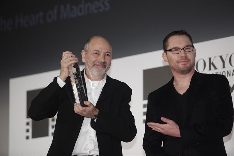 Robert Berliner, Sutradara peraih Grand Prix Award di TIFF Ke-28, bersama Bryan Singer (Director,USA), ketua tim juri TIFF ke-28.