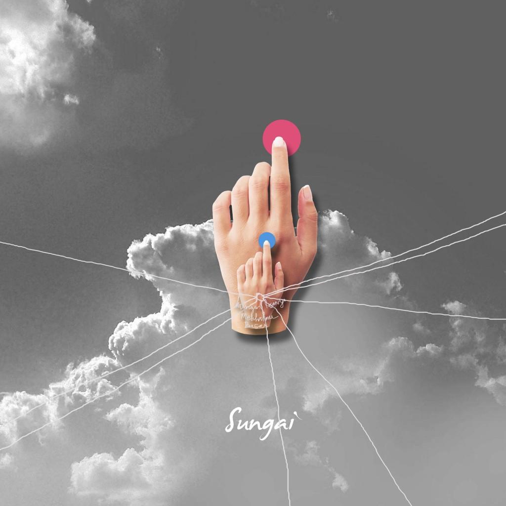 """Cover single terbaru, """"Merah Muda"""""""