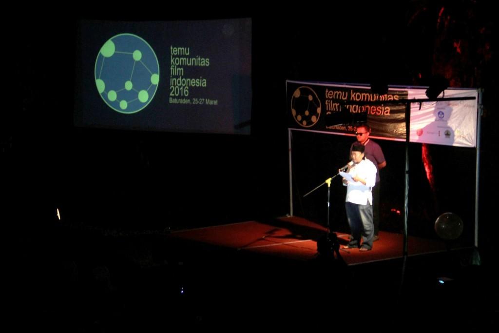 #TKFI2016 Bowo Leksono membuka acara