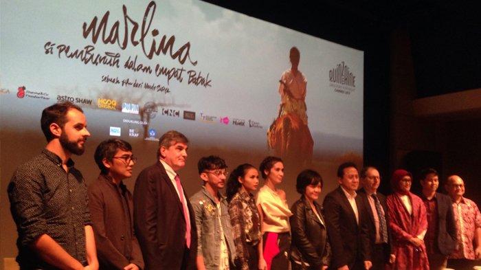Jumpa pers 'Marlina Siap Berangkat ke Cannes', di kawasan Thamrin, Jakarta Pusat, Jumat (12/5/2017) (Photo: Tribunnews.com)