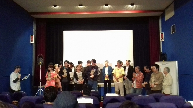 Fruit Chan dan Pemenang OIMF ke-9 (Photo by: Daniel Irawan)
