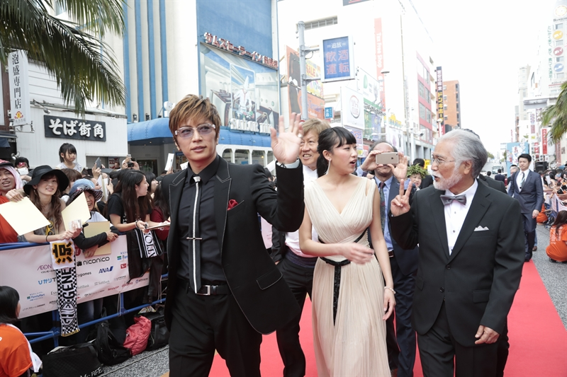 Gackt di red carpet OIMF ke-9 (Photo by: ©2017 Image.net/OIMF)