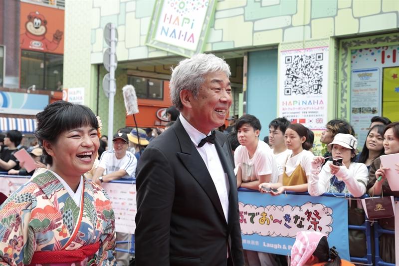 Hiroshi Osaki - Tamako Miyagawa di red carpet (Photo by: ©2017 Image.net/OIMF)